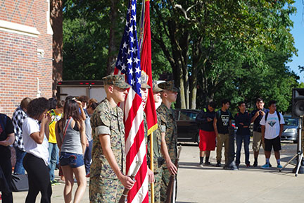 Photo Gallery: MJROTC remembers  9/11