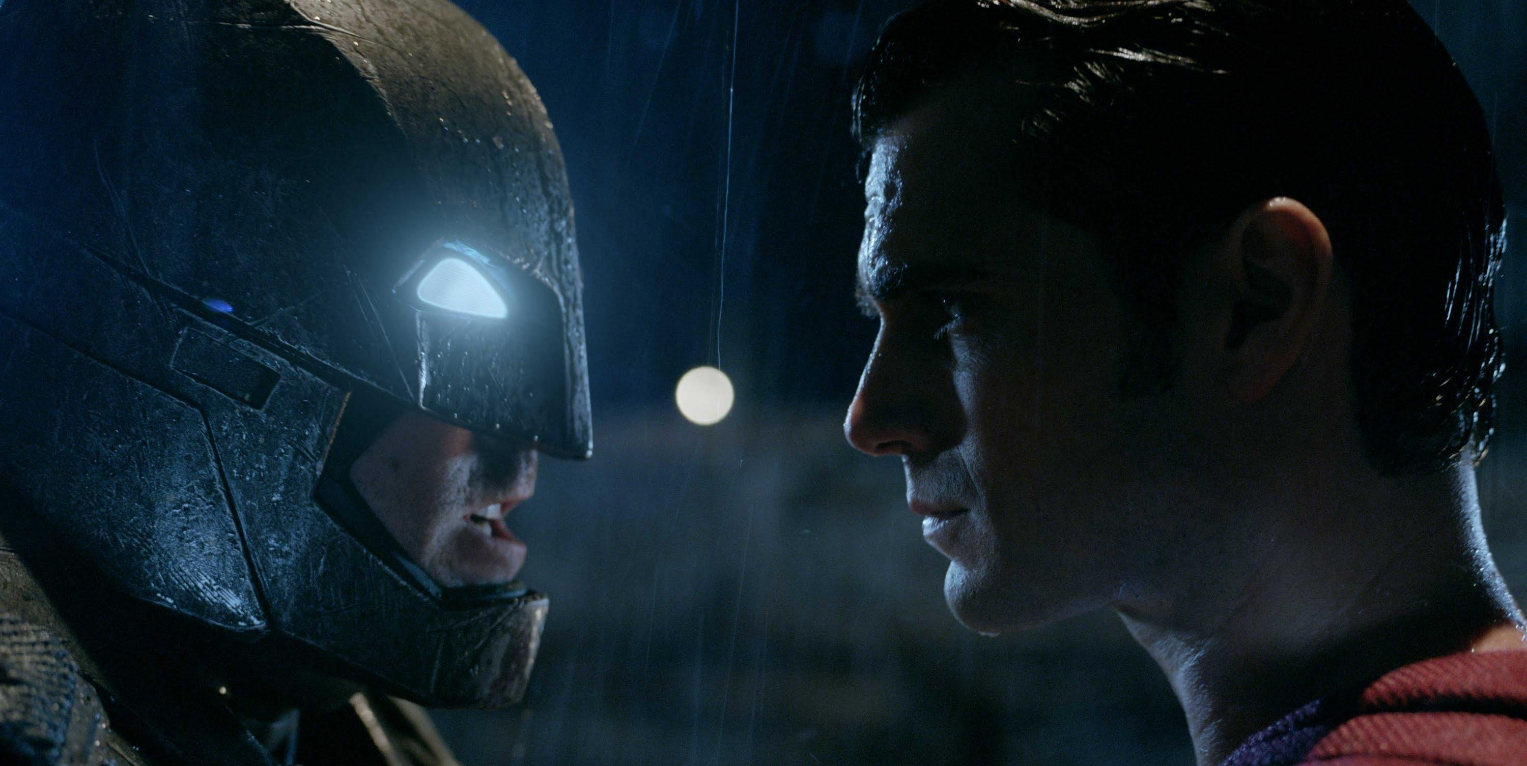 Batman (left), played by Ben Affleck, and Superman (right), played by Henry Cavill are set to duke it out in Warner Brother's
