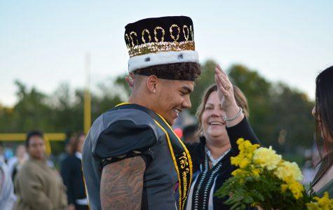 Homecoming Winners Ruth Fiander and Corey Thomas