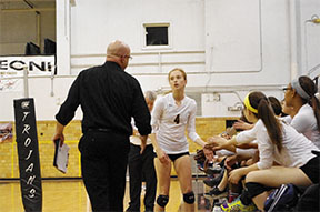 Photo Gallery: Topeka High Volleyball v. Blue Valley West
