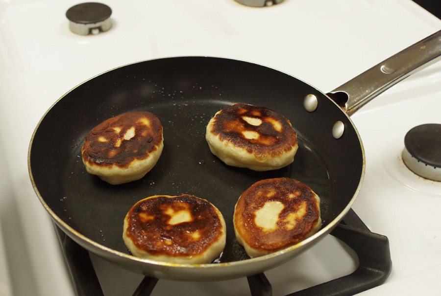 Traditional Chinese pancakes.