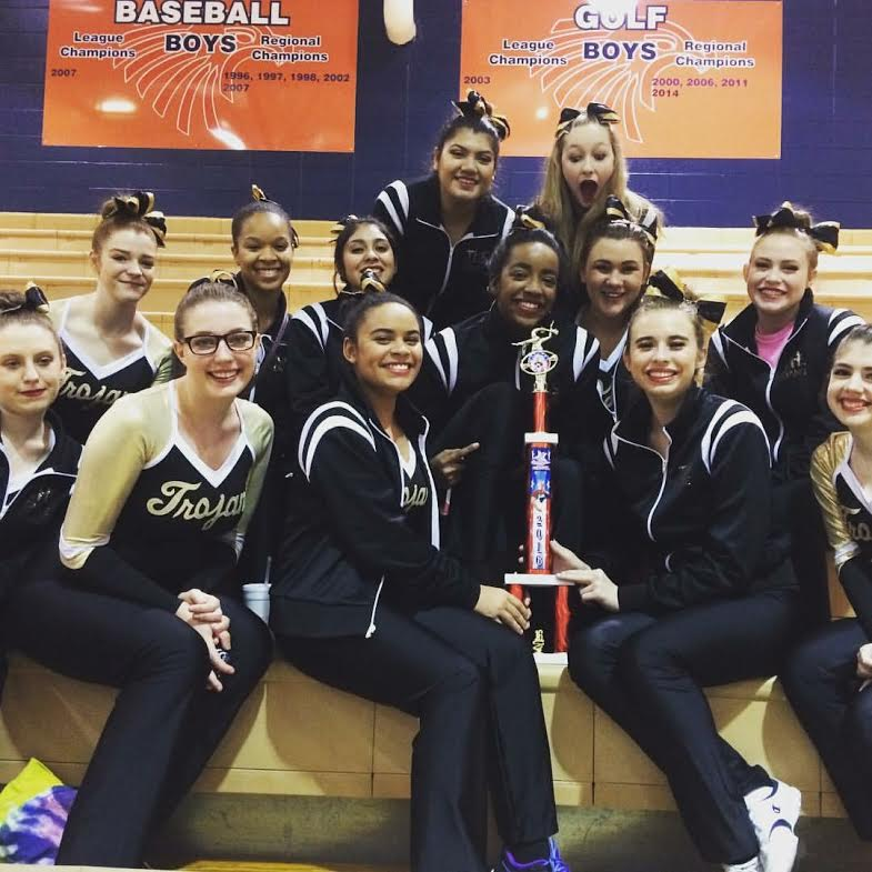 Dance Team competed in KSPEC