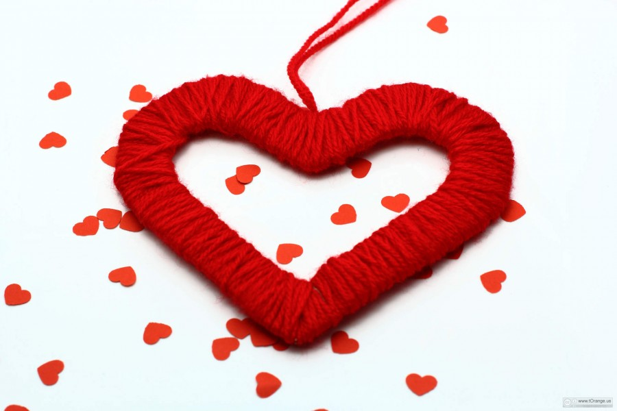 Heart on Valentines Day
