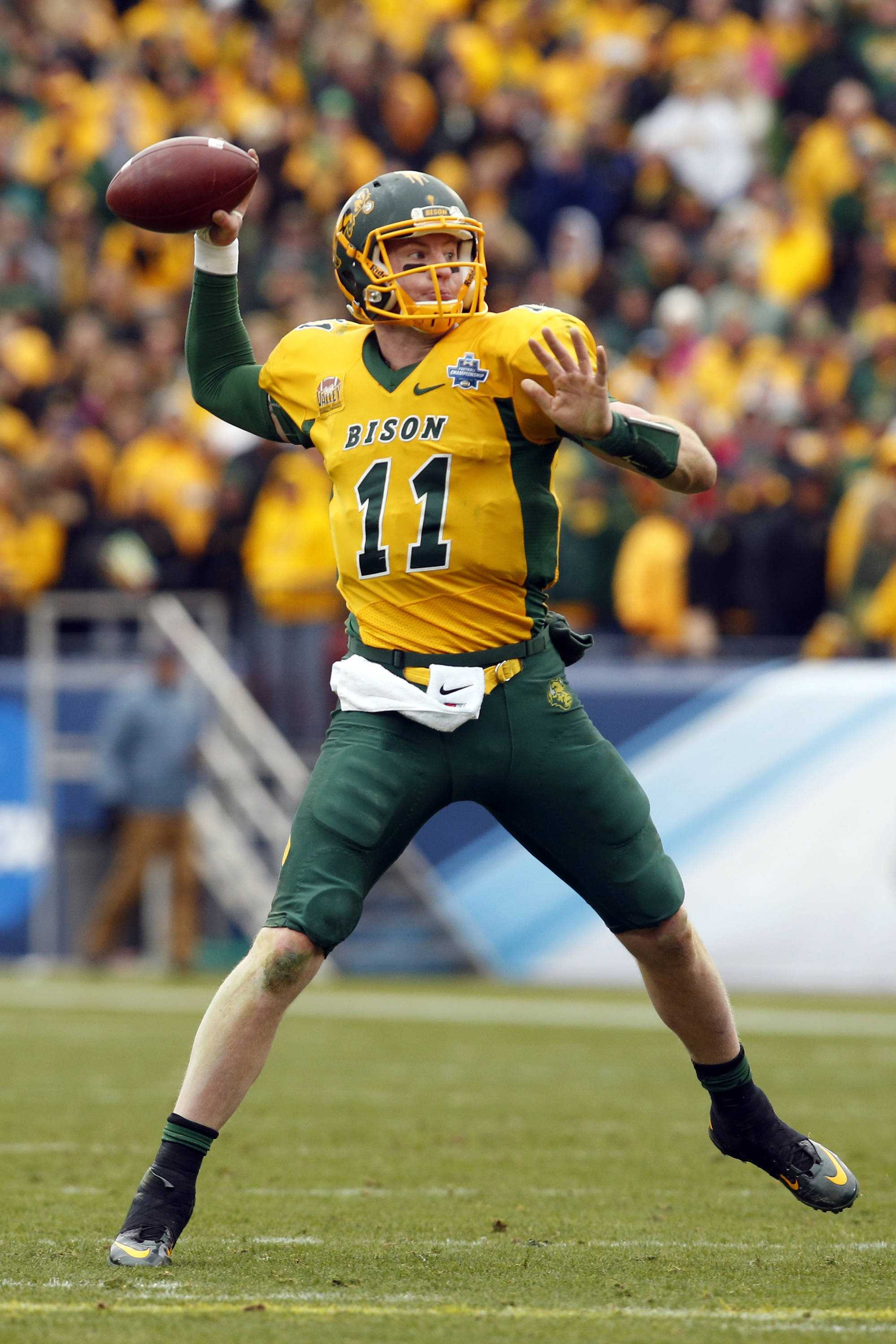 Carson Wentz came out of nowhere in this draft process. Could he be the first overall pick in this year's NFL Draft?