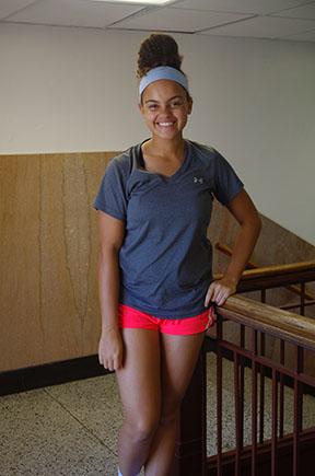 Mikayla Keeling, senior.