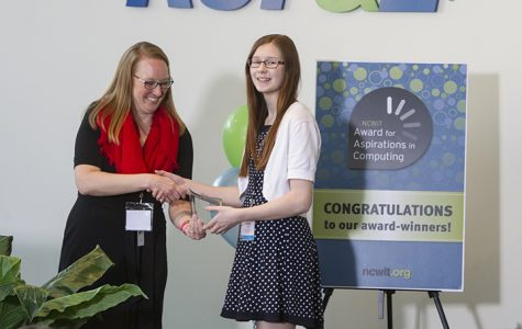 Student wins selective technology award