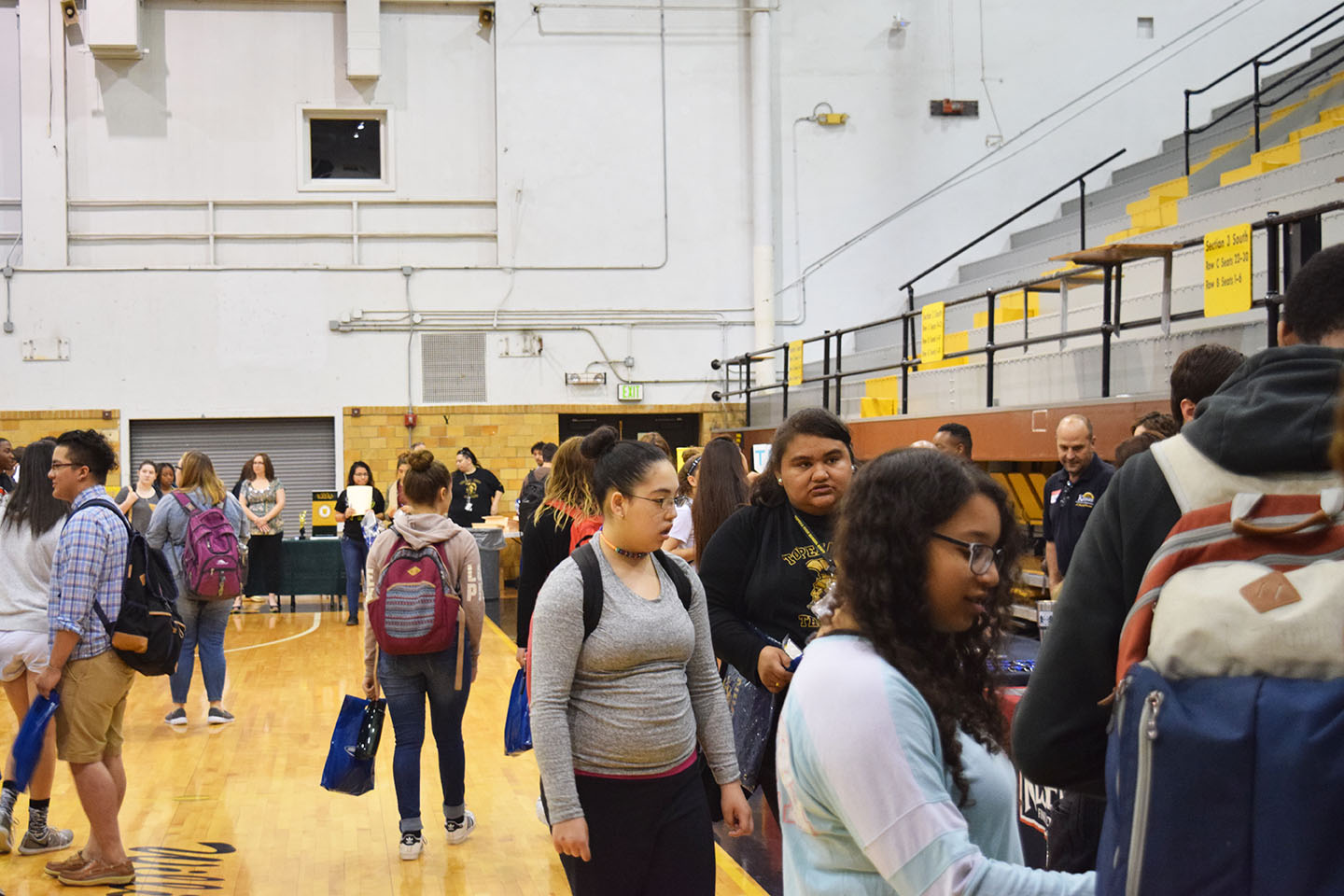 The career fair comes to towards the end of every school year to help students find summer jobs and future employment opportunities.
