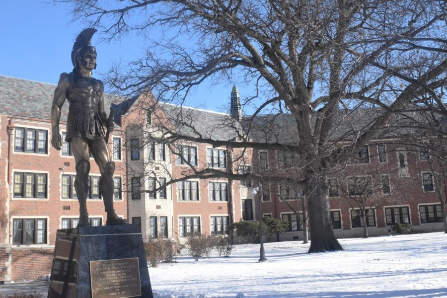 Trojans In the Snow: Lillian Holmberg