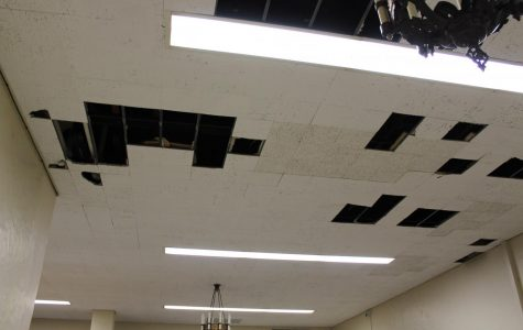 Pipe bursts over winter break, flooding on the second floor