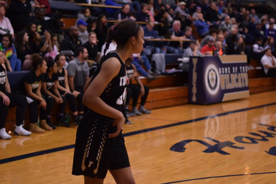 Junior, Tionna German has been playing basketball for the Lady Trojans since her freshmen year.