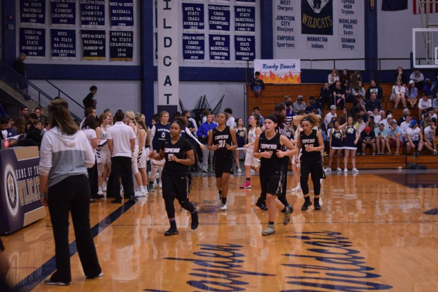 The lady Trojans took a loss against Hayden with a finishing score of 47-49.