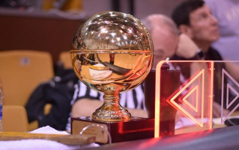The Dean Smith trophy  on the