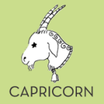 Capricorn. Dec 22- Jan 19.