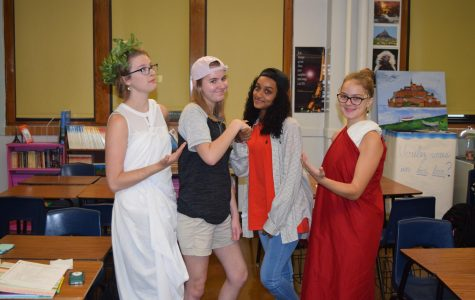 THS Spirit Week 2018: Monday, October 1; Greek Day