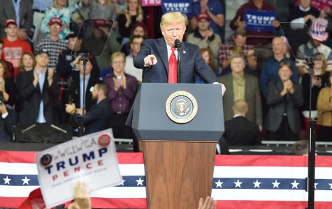 President Trump Visits the Capital City