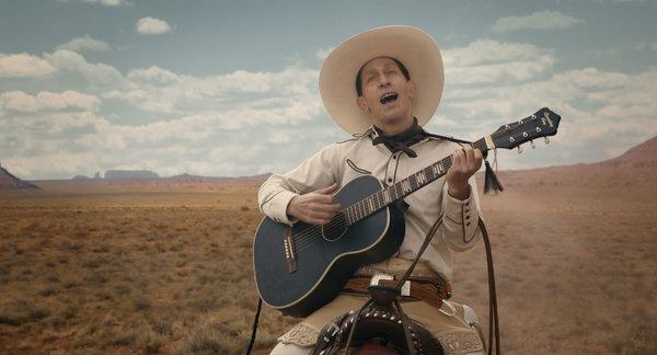 Tim Blake Nelson as title character buster Scruggs.