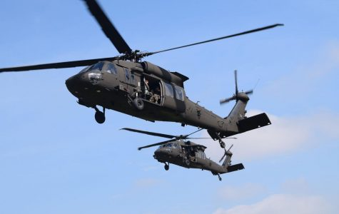 ROTC Cadets Board Black Hawk Helicopters for Tour