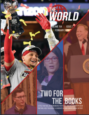 The World, Volume 152, Issue 3, February 2020